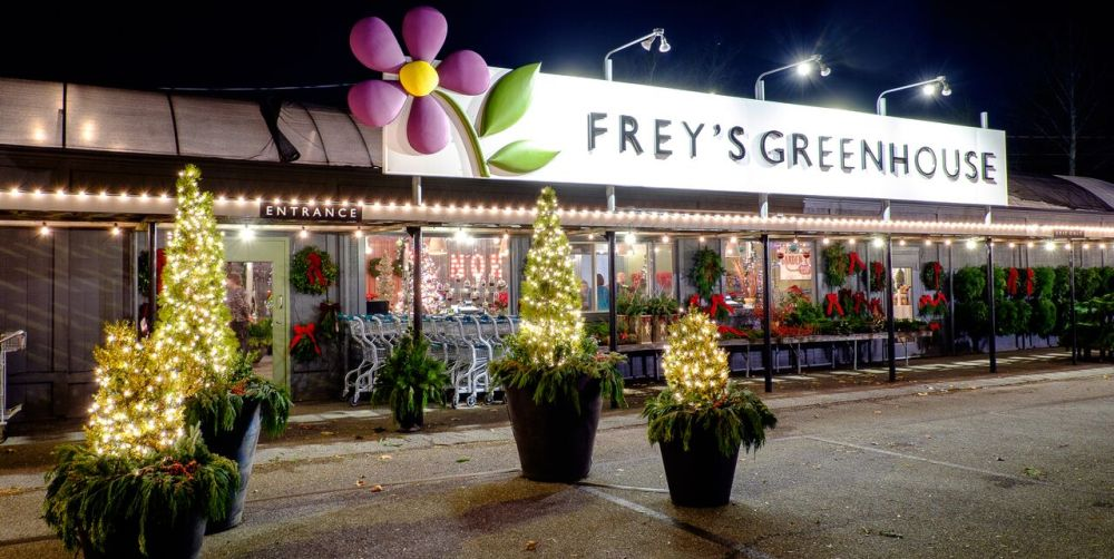 Christmas Trees And Decor At Frey S Greenhouse In Lancaster Pa And